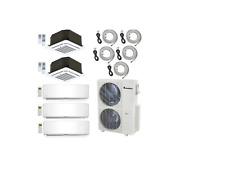 Klimaire 48000 BTU 5-Zone Ductless Mini-Split AC Heat Pump 9K+9K+9K+12K+12K  KIT