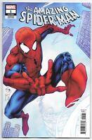 Amazing Spiderman #1 1:25 Shane Davis Variant Marvel Comic 1st Print 2018 NM
