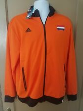 Adidas Holland Fifa World Cup Brasil Polyester Jacket orange Size L