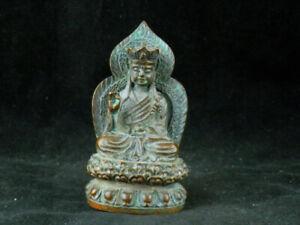 Antique Tibetan Brass Hand Made *Buddha* Statue