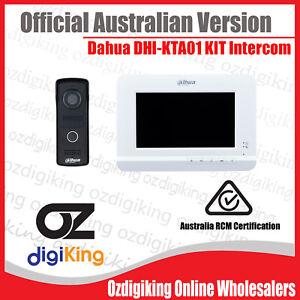 【Dahua Australian Version】DHI-KTA01 Intercom Doorbell Security System