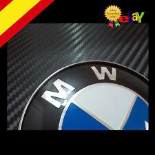 RELIEVE 3D!! EMBLEMA LOGO INSIGNIA PARA BMW DE 82MM capo y maletero  E36 E46 E90