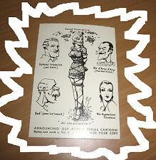 Bizarre Postcard J Willie Erotic Fetish BDSM Bondage Sweet Gwendoline Comic
