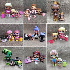 LOT Big sister Splatters Kitty Queen POSH Bon Bon Midnight & LIL Family Doll