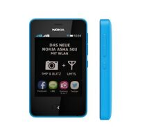 Nokia Asha 503 in Cyan Handy Dummy Attrappe - Requisit, Deko, Ausstellung