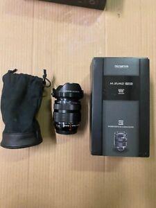 Olympus M.Zuiko Digital Pro 12-40mm F/2.8 AF ED Zoom Lens - Black