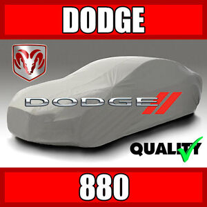 [DODGE 880] CAR COVER ☑️ All Weather ☑️ 100% Waterproof ☑️ Premium ✔CUSTOM✔FIT