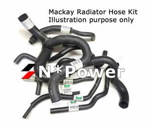 MACKAY RUBBER VEHICLE RADIATOR HOSE KIT FOR TOYOTA CRESSIDA MX83R 7M-GE