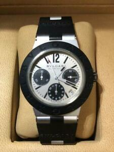 BVLGARI Aluminum AC38TA Automatic Men's Watch