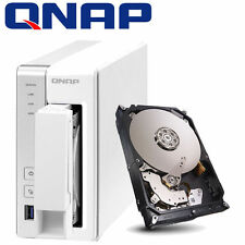 BUNDLE 2000GB FESTPLATTE + QNAP TS-131 NAS Server 1.2GHZ 512MB eSATA USB3.0  2TB