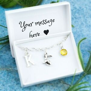 Rabbit Bracelet, Personalised Jewellery, Bunny Gifts, Sympathy For Pet Loss