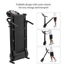 Foldable Electric Motorized Treadmill Running Jogging Gym Power Machine 750W