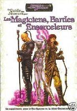 D20  SWORD & SORCERY GUIDE DES JOUEURS POUR LES MAGICIENS, BARDES & ENSORCELEURS