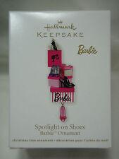 2011 Hallmark Keepsake Ornament Spotlight On Shoes Barbie