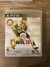 NHL 15 (Sony PlayStation 3, PS3, 2014) Hockey Complete! Free Shipping!