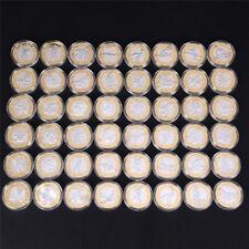 Sesso da collezionista di monete commemorative placcato argento