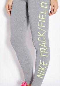 SZ SMALL 🔥 Nike Women's Running Tights Track & Field Carbon/Volt 687581-091 $80
