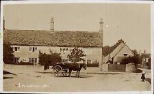 Langford near Lechlade. Horse & Cart.