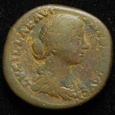 Lucilla AE sestertius, r. Venus holding apple & sceptre, Rome 164-6AD - RIC 1763