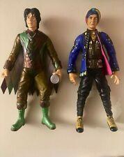 Universal Studios The Blue Raja And Spleen Action Figures Mystery Men 1999.