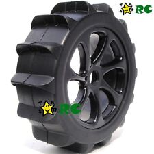 4pcs New RC 1:8 Baja Buggy Wheel & Snow / Sand Master Paddles Tires Set for HPI