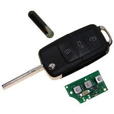 VW Skoda Golf 4 Passat Klappschlüssel Schlüssel 1J0959753AH 1J0959753DA ID48 A17