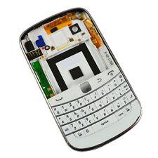Full Housing Back Battery Case Cover+ Keypad For Blackberry Bold 9900 9930 White