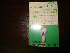 Jets vs Houston Oilers Oct 20 1969 Undated Ticket Stub Opening Day Game 1969