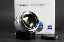 Zeiss C Sonnar T* ZM 50mm f1.5 M mount -Leica M -Boxed (Mint)