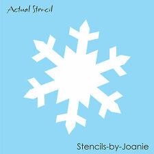 "Joanie STENCIL 8"" Snowflake Winter Primitive Christmas Holiday Decor Wall Art"