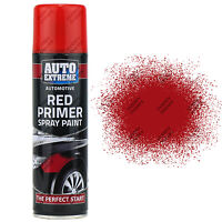 9 x 250ml Red Primer Matt Spray Paint Aerosol Can Auto Extreme Metal Wood