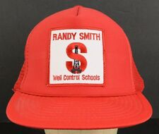 Randy Smith Well Control Schools Gas Oil Mesh Trucker Baseball Hat Cap Snapback