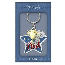 Me To You Tatty Teddy No.1 Dad Enamel Key Ring Gift  G01K0272