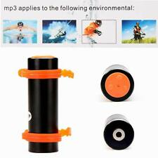 Black Swimming Diving Water Waterproof MP3 Player FM Radio Earphone 4GB New