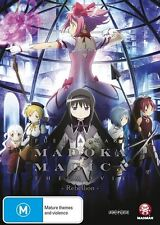 Puella Magi Madoka Magica the Movie -Rebellion- NEW R4 DVD