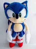 """18"""" Sonic The Hedgehog Plush Kids Backpack Stuffed Figure Sega Kids Toy Gift"""