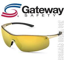 Gateway Ingot Gold Gold Mirror Lens Safety Glasses Sunglasses Z87+ CSA Z94.3