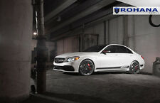 20x9 +25 20x10 +33 Rohana RF1 5x112 Black Wheels Fit Mercedes Benz C63s Amg 2015
