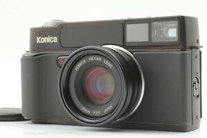 【TOP MINT】 Konica HEXAR AF Black 35mm Rangefinder Film Camera from Japan #718