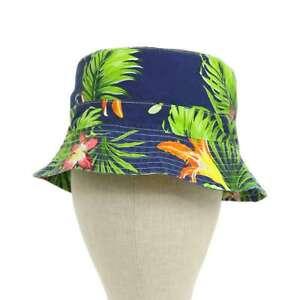 Polo Ralph Lauren Safari Bucket Hat Cap - Floral Aloha -- 2 colors --