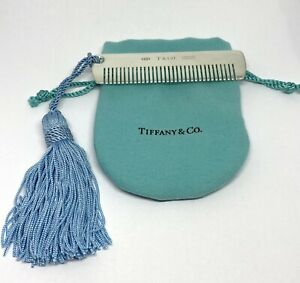 Tiffany  & Co 1837 Sterling Silver 925 Baby Comb 22882155