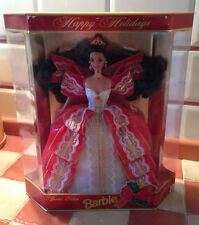 BARBIE HAPPY HOLIDAYS BRUNA BRUNETTE SPECIAL EDITION #17832 MATTEL 1997