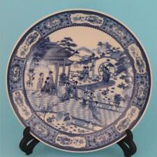 China Antique Porcelain Blue And White Twelvegold Enamel Pattern Home Decoration