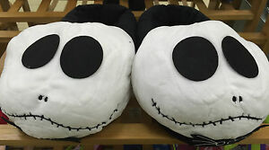 The Nightmare Before Christmas Jack Comfortable Plush Winter Slippers Full Cover