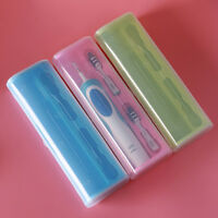 Portable Electric Toothbrush Holder Case Plastic Box Travel Camping For Oral-B