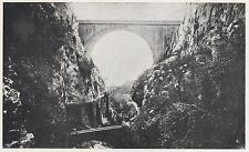 D2019 Grimaldi - Ponte San Luigi - Stampa d'epoca - 1923 vintage print