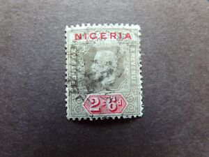 Nigeria - George V 1914 Two And Six Pence Used
