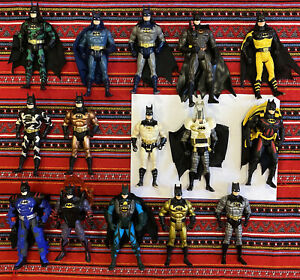 Lot Of 15 Kenner Batman Action Figures, All Different + Some Accessories 1990s