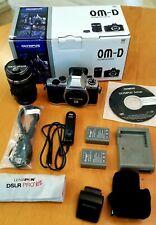 Olympus OM-D E-M5 Camera with ED 12-50mm f/3.5-6.3 Zuiko EZ Lens, Flash, & More