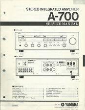 Yamaha A-700 / Service Manual / Anleitung